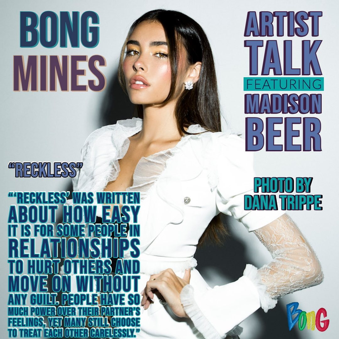 Madison Beer Artist Talk Bong Mines Entertainment