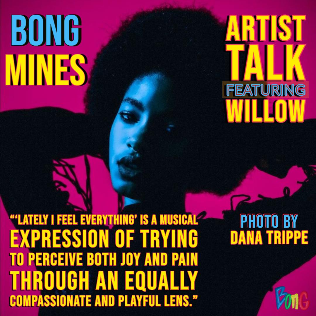 WILLOW Bong Mines Newsletter