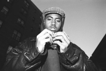 Nas + Queensbridge 1992 + Photo by Chi Modu