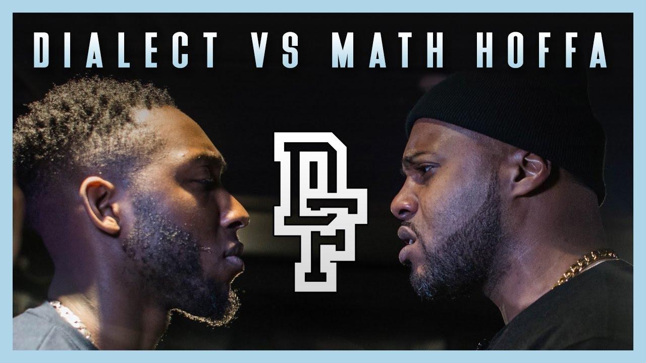 Math Hoffa versus Dialect