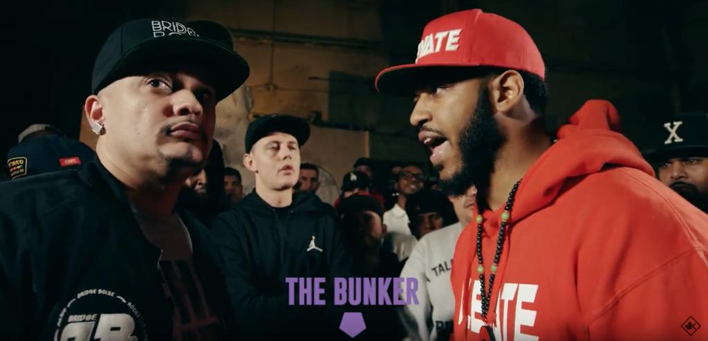 Cortez versus B. Dot + Battle Rapper