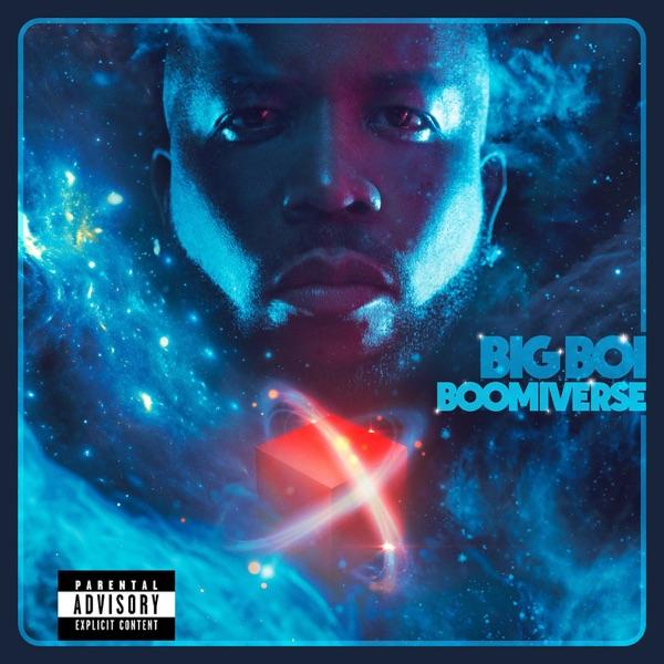 """Big Boi - """"BOOMIVERSE"""" album cover"""