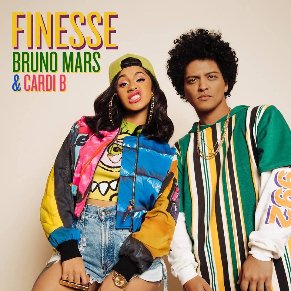 Bruno Mars + Cardi B