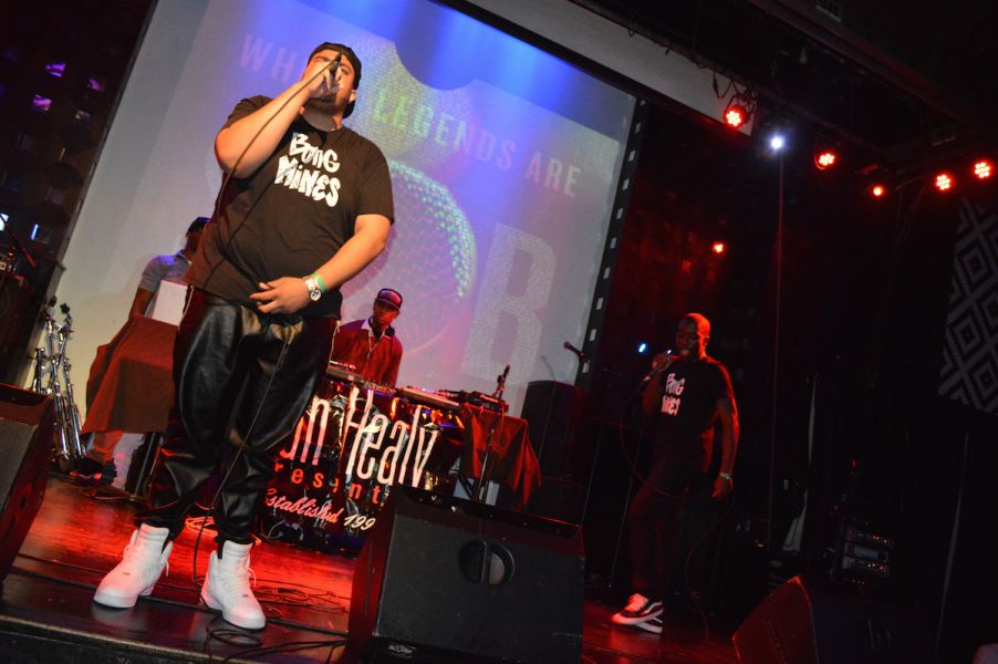 Bong Mines on stage performing - Photo by MOAK TV