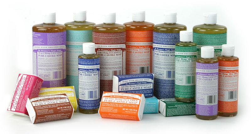 Lyric + Dr. Bronners Castile Soap