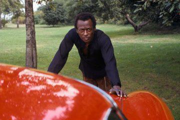 Miles Davis press photo