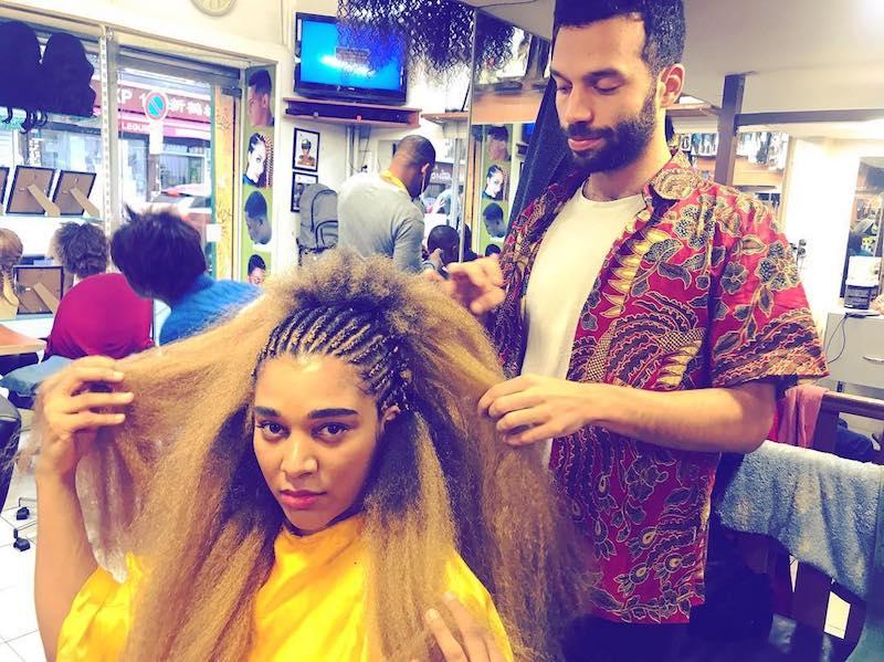 "SÔNGE - ""Magic Hairdo"" photo"