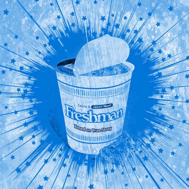 """Zaena x Jason Maek + """"Freshman"""" artwork"""