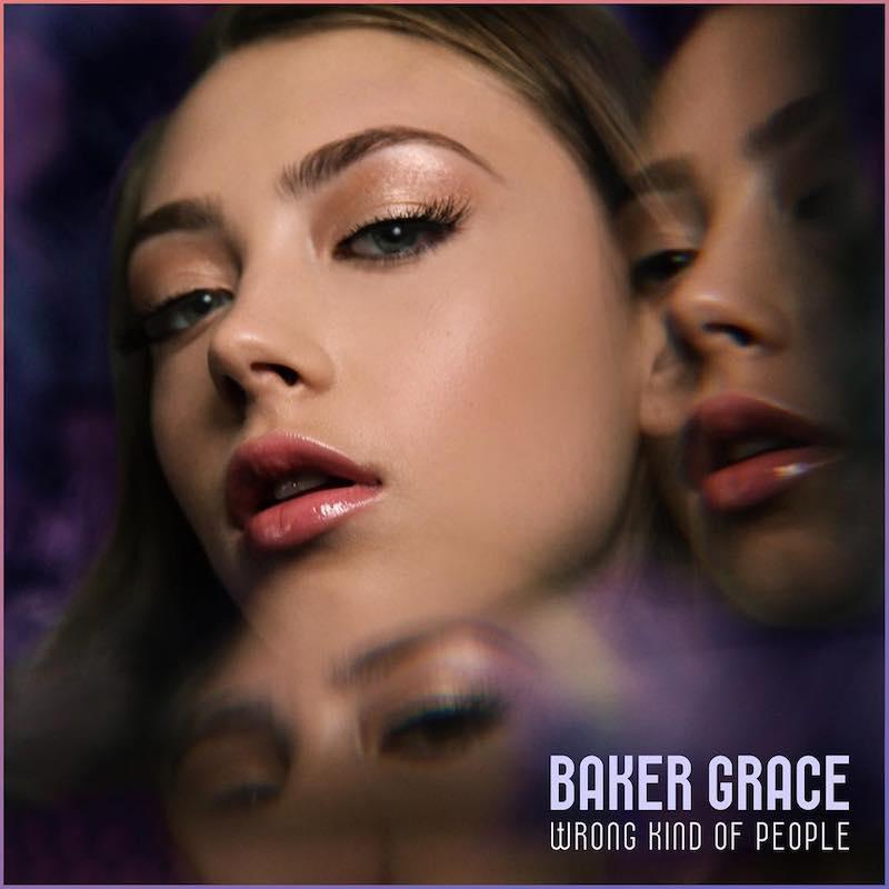 """Baker Grace - """"Wrong Kind of People"""" artwork"""