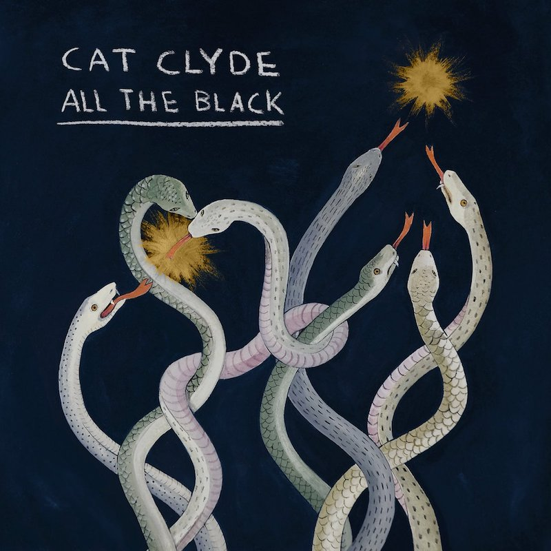 "Cat Clyde – ""All the Black"" artwork by Sophia Pega"