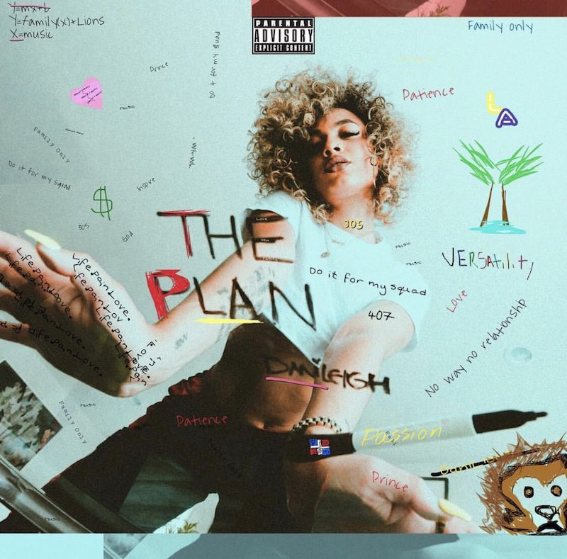 DaniLeigh + The Plan + artwork