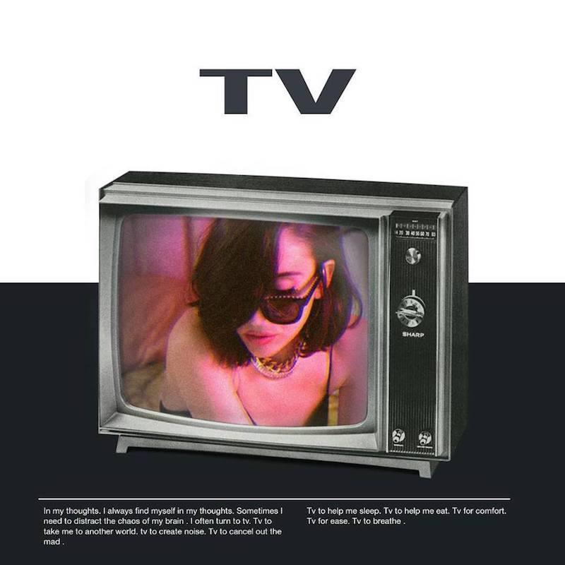 """Elohim – """"Tv"""" artwork"""