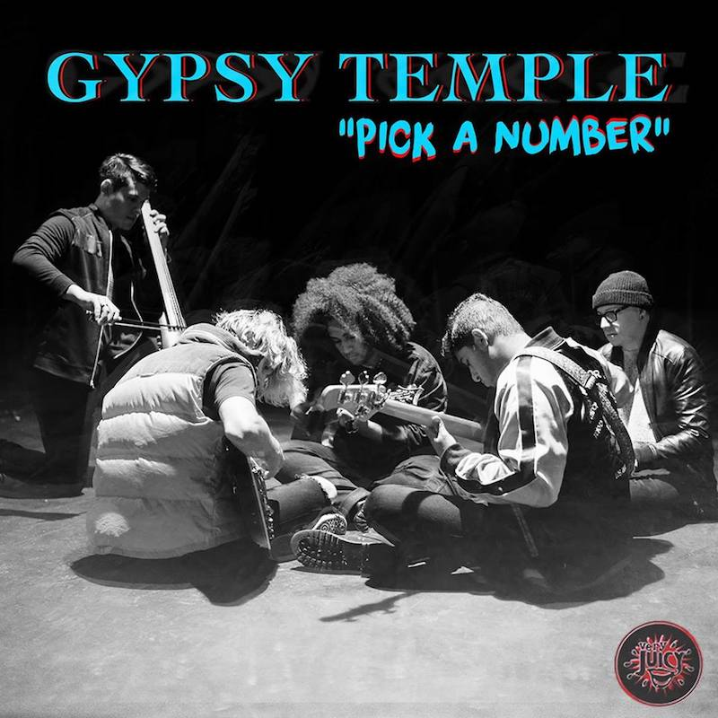 "Gypsy Temple – ""Pick a Number"" artwork"