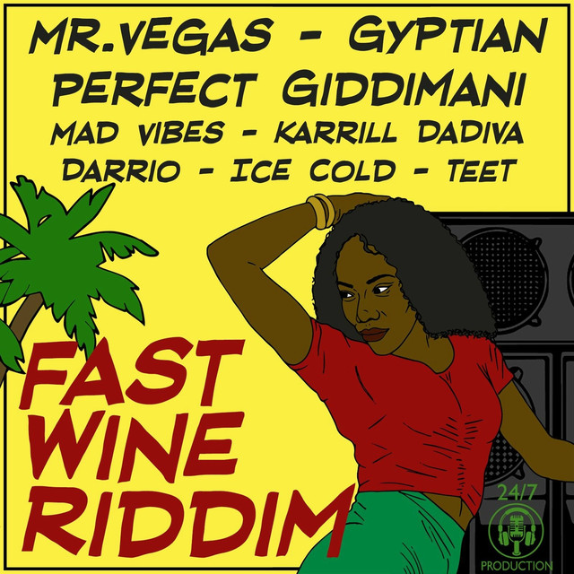 "Gyptian – ""Perfectly With You"" artwork"