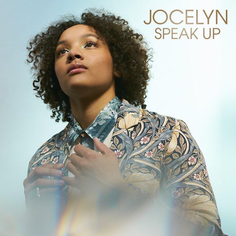 """Jocelyn – """"Speak Up"""" artwork"""