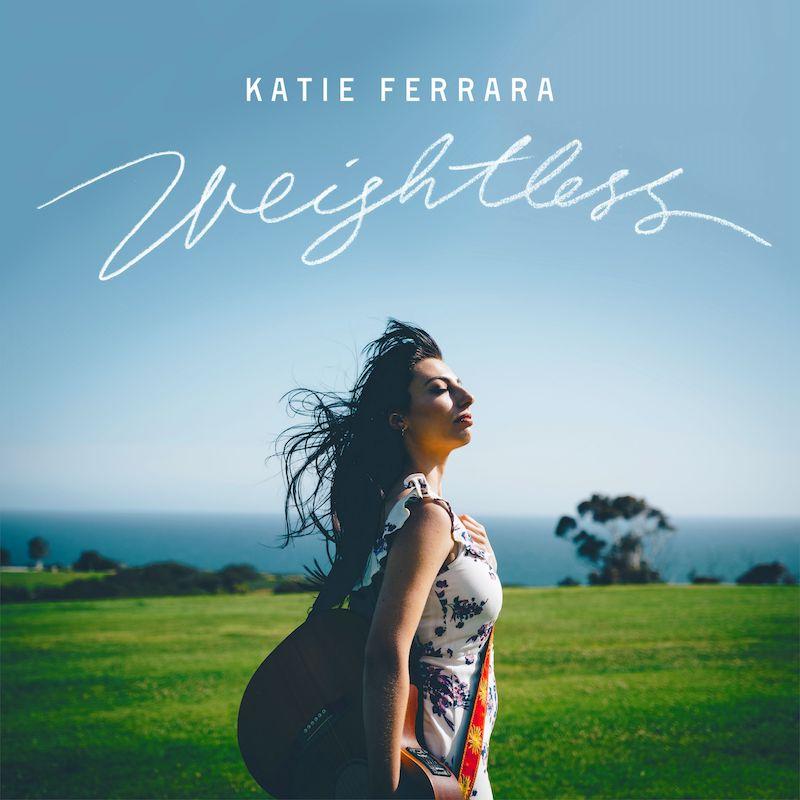 "Katie Ferrara – ""Weightless"" artwork"