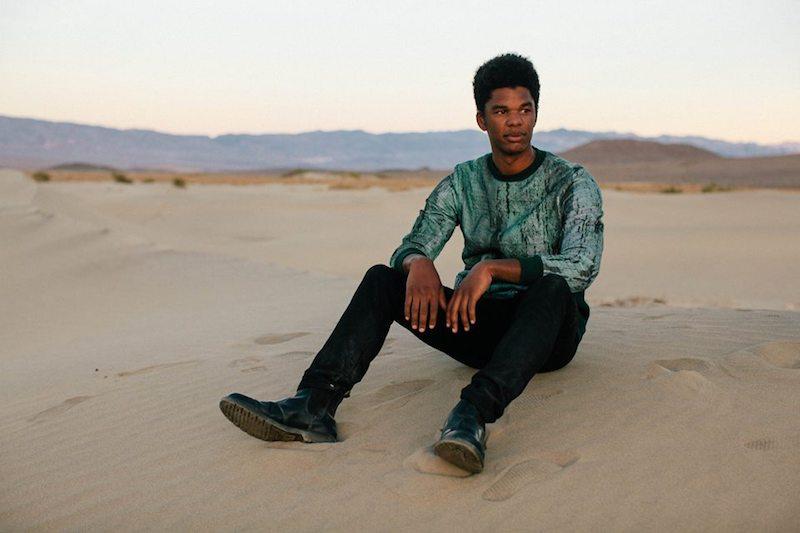Kyan photo in the desert