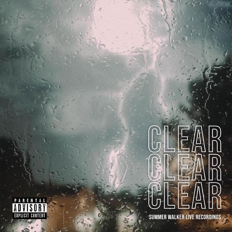 "Summer Walker – ""CLEAR"" EP artwork"