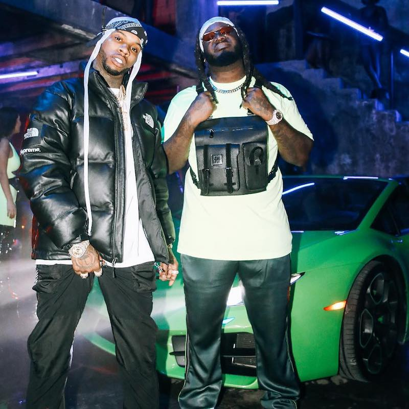 "T-Pain – ""Getcha Roll On"" featuring Tory Lanez press photo"