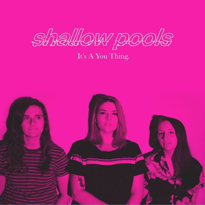 """shallow pools - """"It's a You Thing."""" artwork"""
