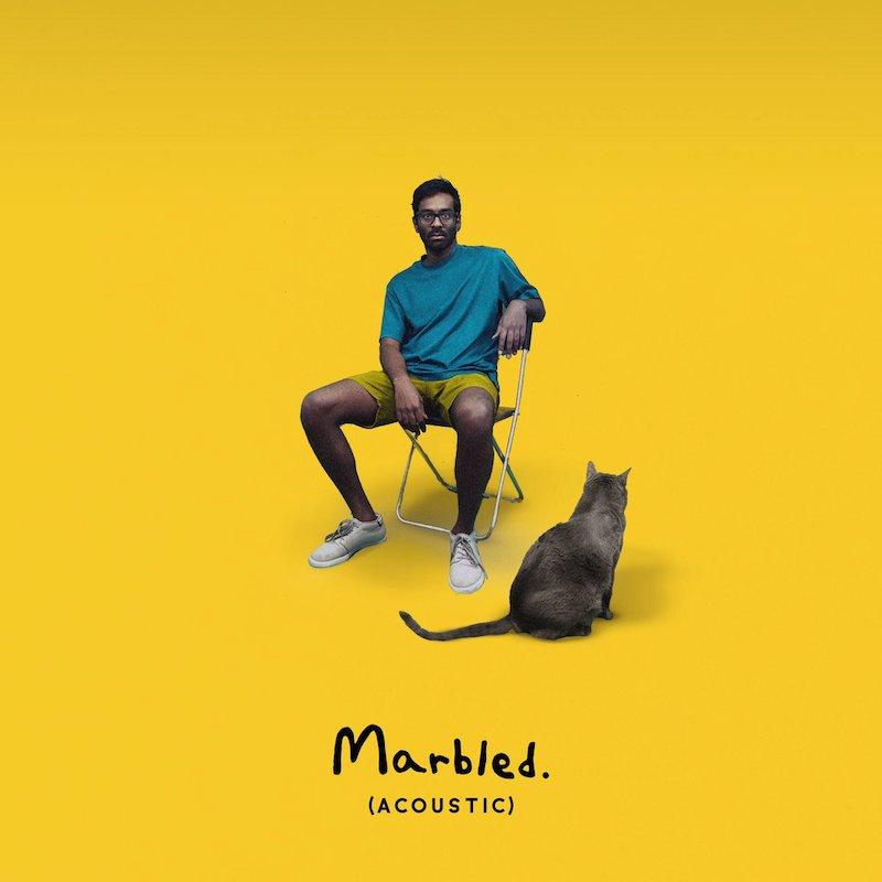 "Abhi The Nomad - ""Marbled (Acoustic)"" artwork"