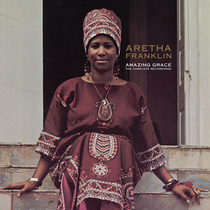 "Aretha Franklin - ""Amazing Grace: The Complete Recordings (Live)"" artwork"