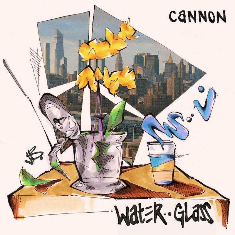 "Cannon – ""Water Glass"" artwork by @spaldingbarros"