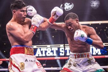 Errol Spence Jr. dominates Mikey Garcia