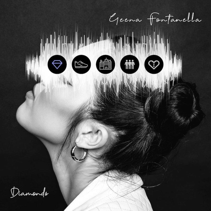 "Geena Fontanella – ""Diamonds"" artwork"