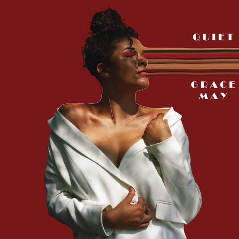 "Grace May – ""Quiet"" artwork"