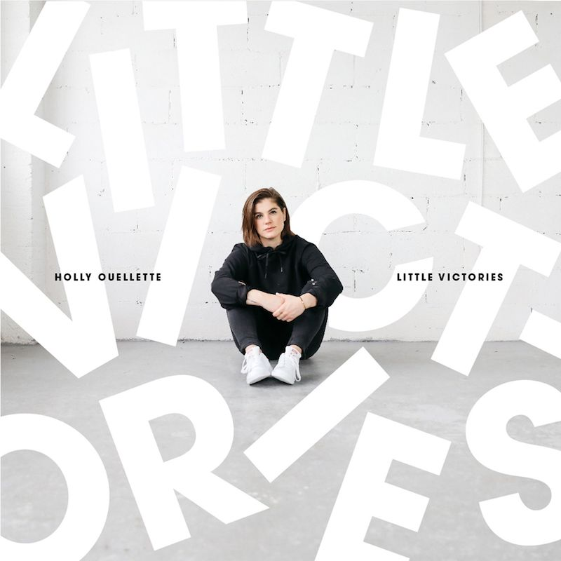 "Holly Ouellette - ""Little Victories"" EP artwork"