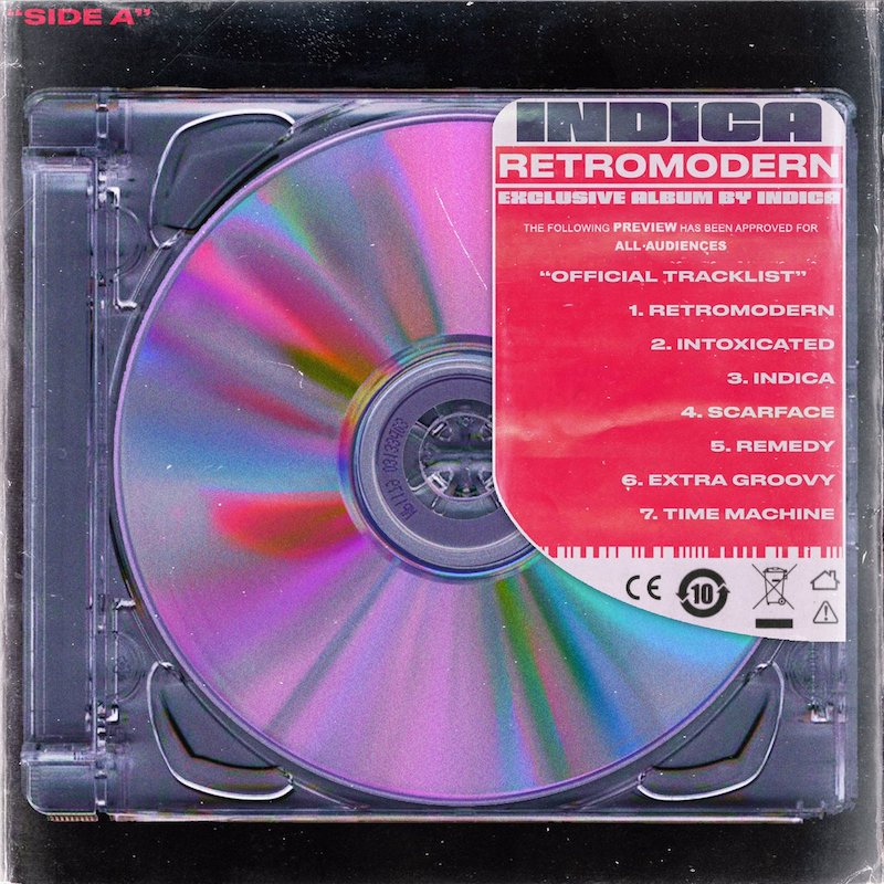 "INDICA - ""RETROMODERN"" EP artwork"