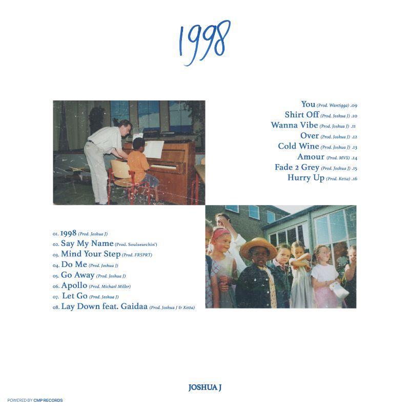 Joshua J - 1998 backcover