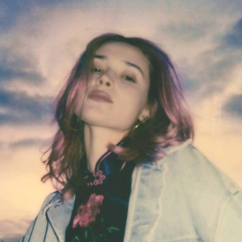 "Lolo Zouaï' - ""Ocean Beach"" EP artwork"
