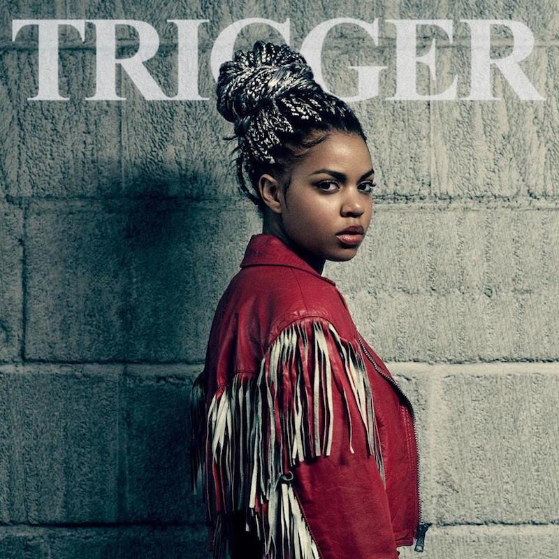 "Luana Kiara - ""Trigger"" artwork"