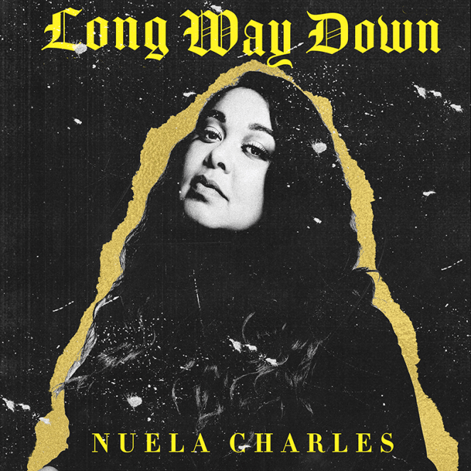 "Nuela Charles - ""Long Way Down"" artwork"