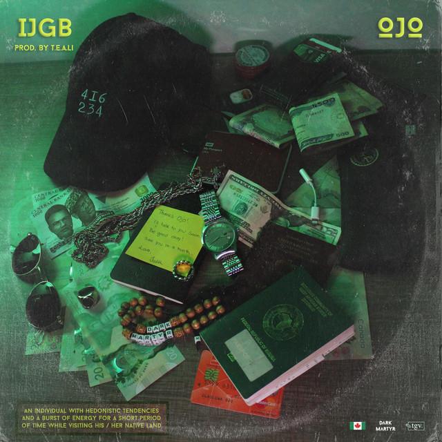 "Ojo - ""I.J.G.B"" artwork"