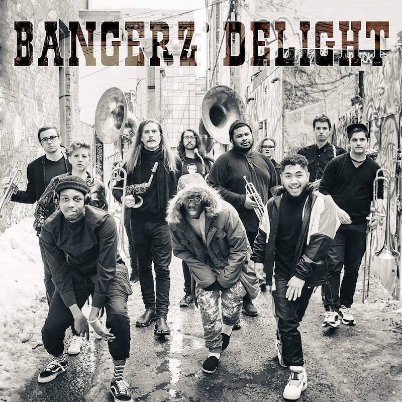 """T.Dot Bangerz Brass - """"Bangerz' Delight (The Grand Return)"""" artwork"""