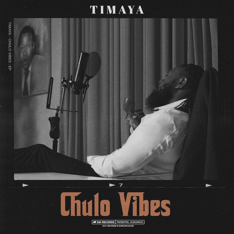 "Timaya - ""Chulo Vibes"" EP artwork"