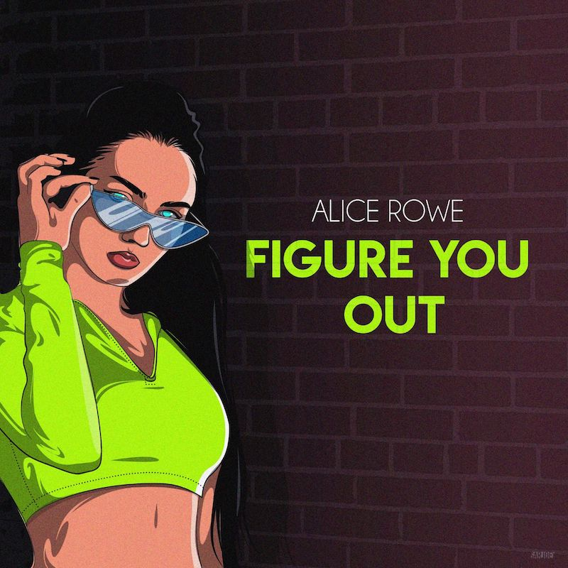 "Alice Rowe – ""Figure You Out"" artwork"