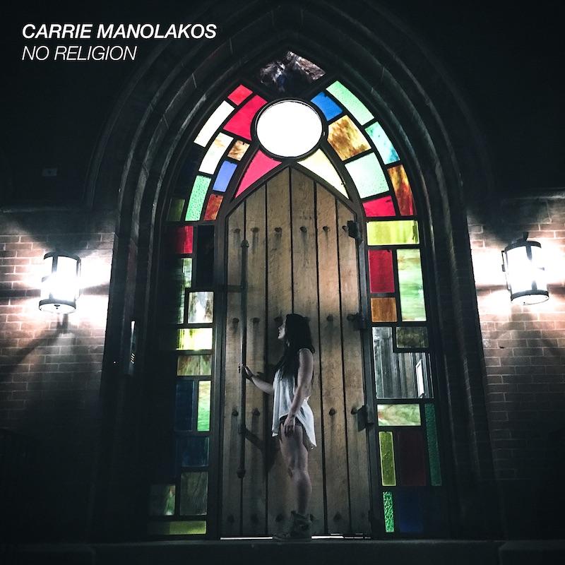 Carrie Manolakos + No Religion artwork