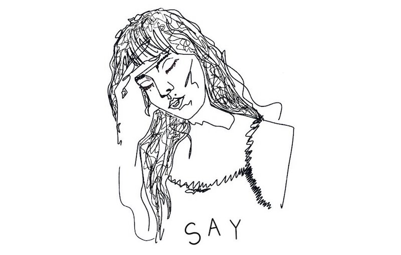 "Cassie Marin – ""Say"" artwork"