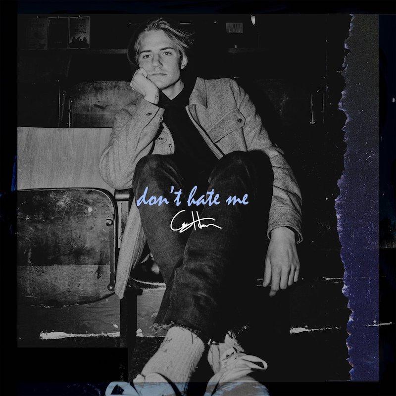"Corey Harper – ""Don't Hate Me"" artwork"