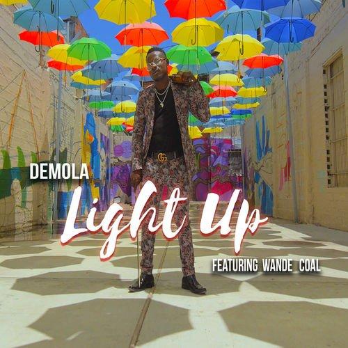 "Demola – ""Light Up"" artwork"