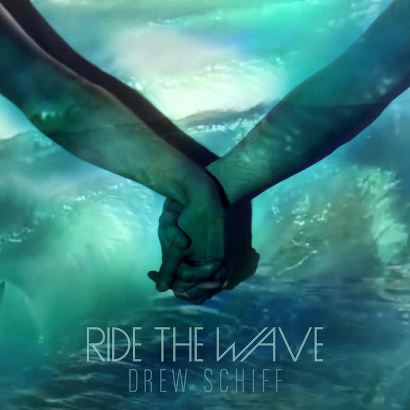 "Drew Schiff – ""Ride the Wave"" artwork"