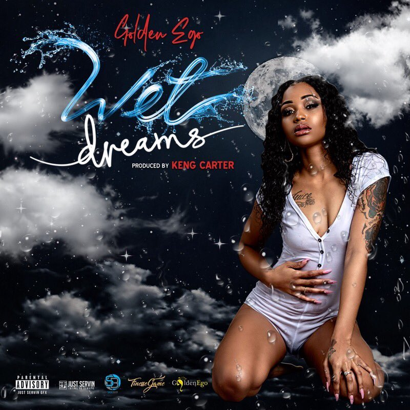 "Golden Ego – ""Wet Dreams"" artwork"