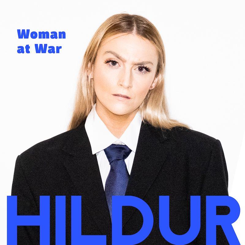 "HILDUR - ""Woman at War"" artwork"
