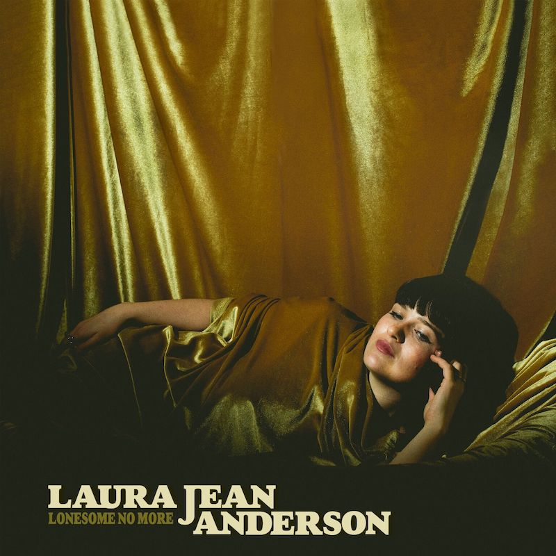 "Laura Jean Anderson - ""Lonesome No More"" artwork"