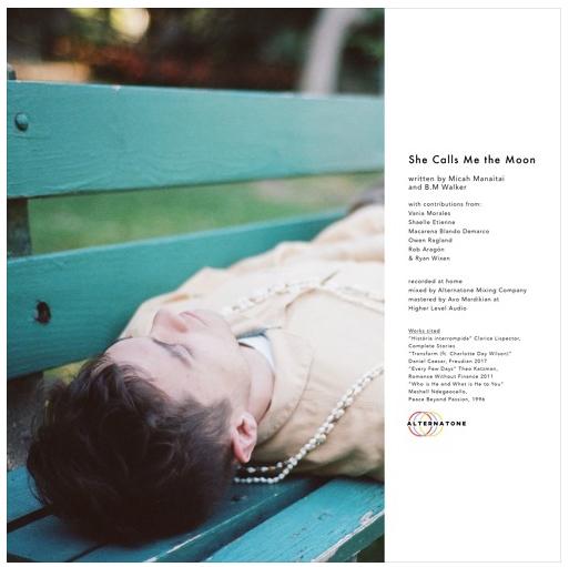 "Micah Manaitai – ""She Calls Me the Moon"" artwork"