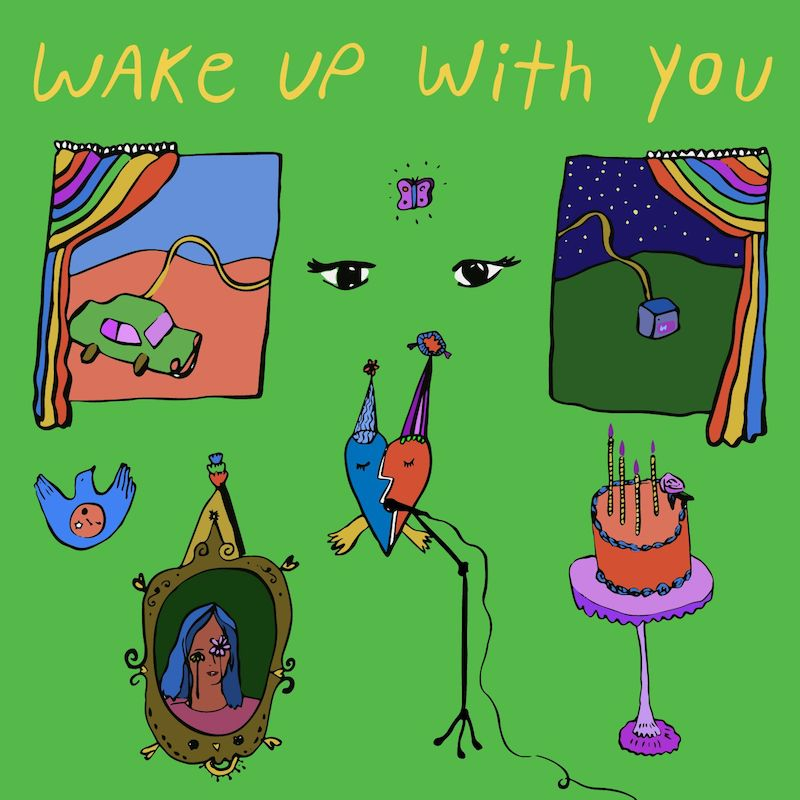 "Pugglefox - ""Wake Up With You"" artwork"